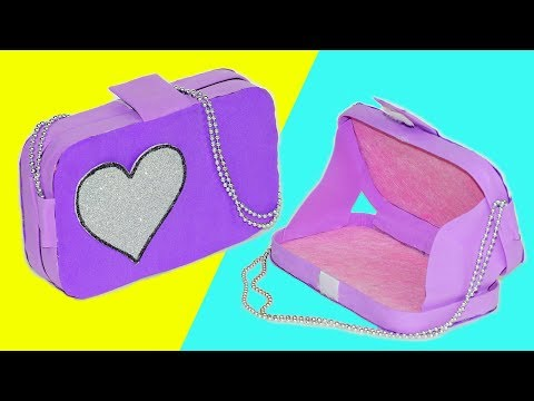 Easy DIY crafts | How to make bag | DIY makeup bag | DIY clutch bag tutorial no sew | Julia DIY