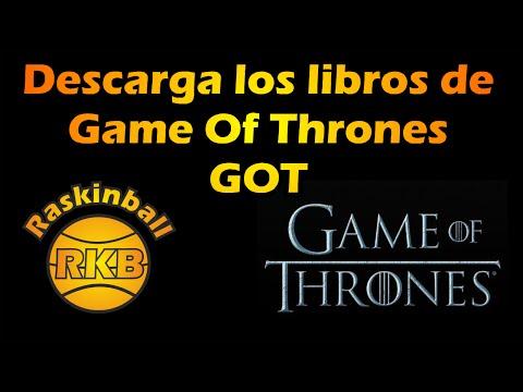 Descarga los libros de Game of Thrones en PDF !!!