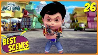 BEST SCENES of VIR THE ROBOT BOY | Animated Series For Kids | #26 | WowKidz Action