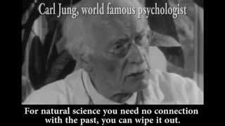 Carl Jung explains the insanity of living a life without Myth (Subtitles + Good Quality)