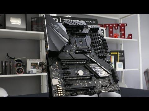 Asus ROG Strix X470 F Preview Ryzen 2 2600X 2700X