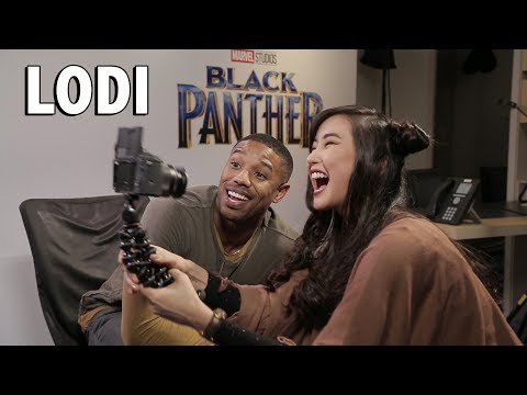 FILIPINO SLANG with the BLACK PANTHER CAST