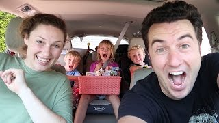 Giant Family Camping Trip Begins - Family Camp Vlogs