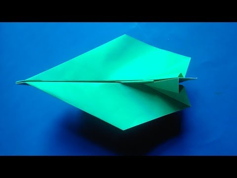How To Make Simple Paper Airplane | Cool Paper Airplanes That Fly Far | Easy Paper Airplane Tutorial