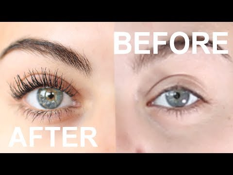 HOW TO GET AMAZING LONG EYELASHES WITH JUST MASCARA AND EYELASH CURLERS!