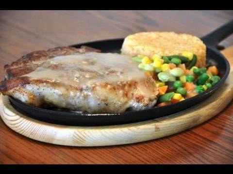 Sizzling Pork Chop
