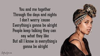 Download No One - Alicia Keys (Lyrics) Video