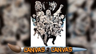 WrestleMania 32 hits the canvas: WWE Canvas 2 Canvas