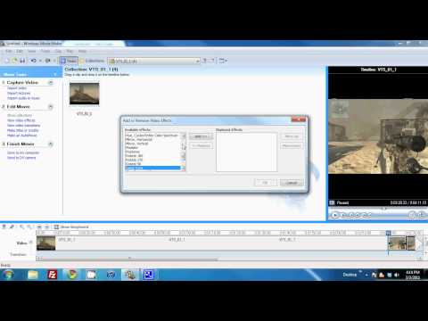 How to do Slow-Mo Vids on Windows Movie Maker