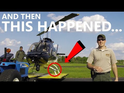 Flying a drone at an AIRPORT in front of a COP - Ken Heron - DJI Tello