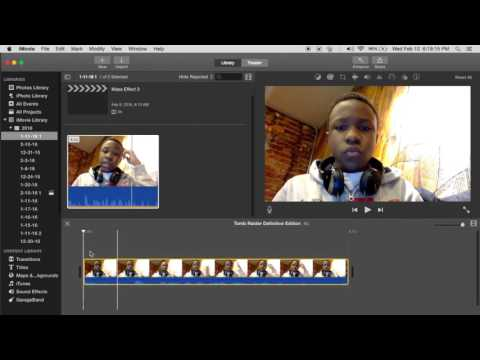 How To Make A Reaction Video On iMovie