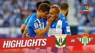 Resumen de CD Leganés vs Real Betis (4-0)
