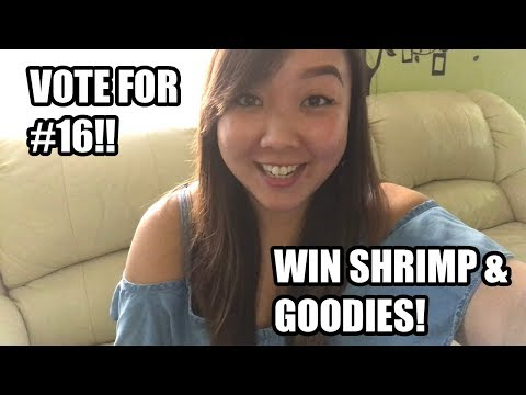 Shrimp Giveaway Contest - Please Help Her Be #1!!