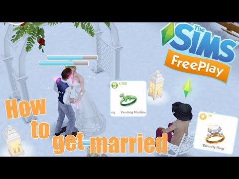 Sims Freeplay | How to get 2 Sims married