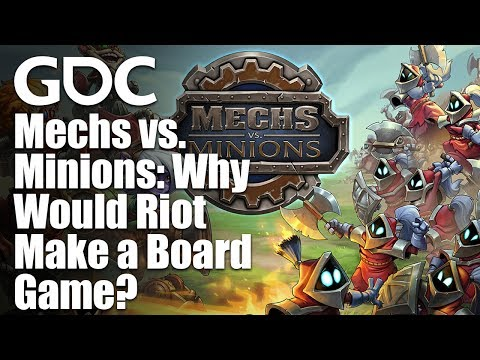 Mechs vs. Minions: Why Would Riot Make a Board Game?