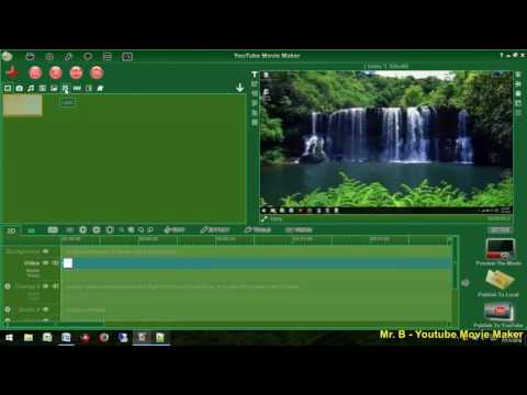 EASY TO MAKE COOL LYRICS VIDEO WITH YOUTUBE MOVIE MAKER Part 01