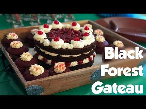 HOW TO MAKE A: Black Forest Gateau Cake