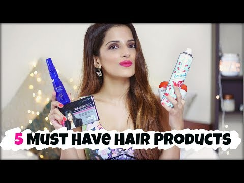 My Top 5 Must Have Hair Products Every Girl Should Have / For Thick & Healthy Hair- Haircare Tips