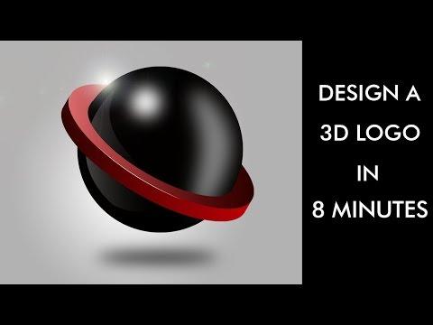 Design a 3D Logo in 8 Minutes - Adobe Illustrator