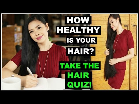 HOW HEALTHY IS YOUR HAIR? TAKE HAIR QUIZ WITH ME- PLUS MY RESULT- Beautyklove