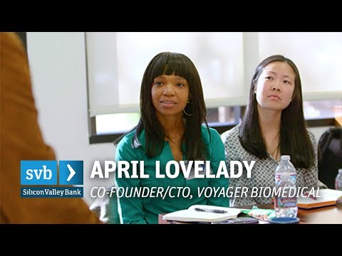 April Lovelady, Voyager Biomedical: How working for a purpose keeps entrepreneurs motivated