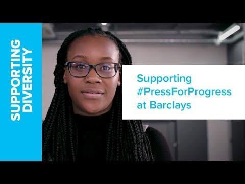 Barclays | International Women's Day 2018 #PressForProgress