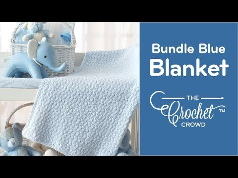 How to Crochet Baby Blanket: Bundle Blanket