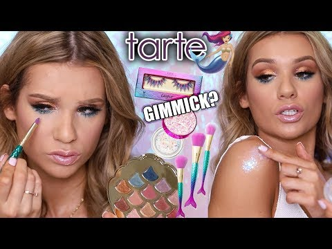 NEW* TARTE MERMAID COLLECTION TESTED | Worth it or Toss it?!