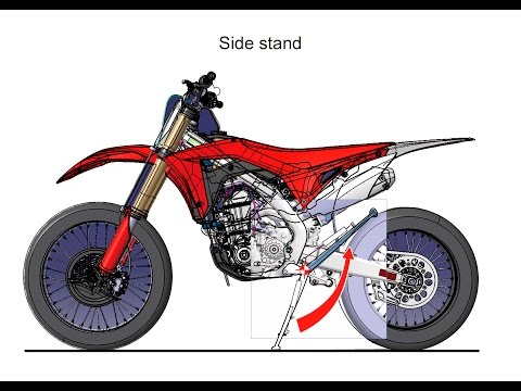 2017 Honda CRF450RX Dirt Bike / Motorcycle : Engine, Frame, Suspension Pictures
