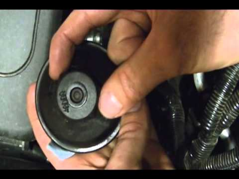 Finding and Removing the Oil Filter on a 2010 Chevrolet Equinox