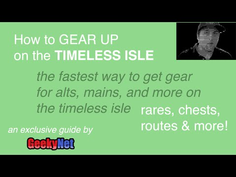 How to Gear Up On Timeless Isle (Patch 5.4.8+) ~ BEST WoW GUIDE