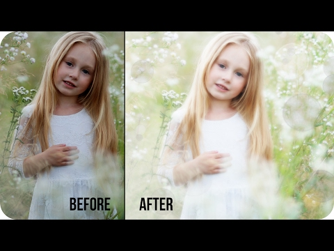 How to Create Soft & Dreamy Photos in Photoshop   Best Simple Photography Photo Editing