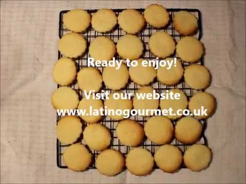 Gluten free butter cookies easy to prepare