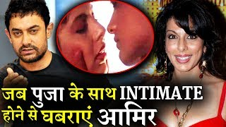 When Aamir got uncomfortable getting intimate with Pooja Bedi!