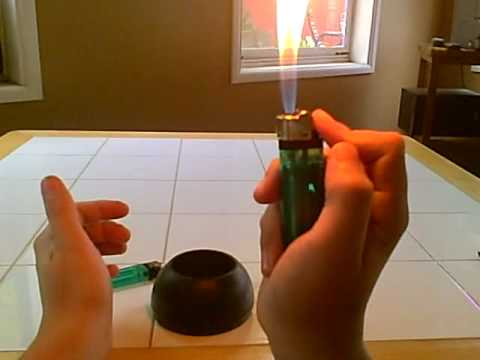how to make a lighter flamethrower