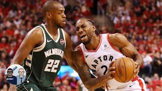 Kawhi 'seemed hobbled' to start Raptors' Game 3 - Jalen Rose | Jalen & Jacoby