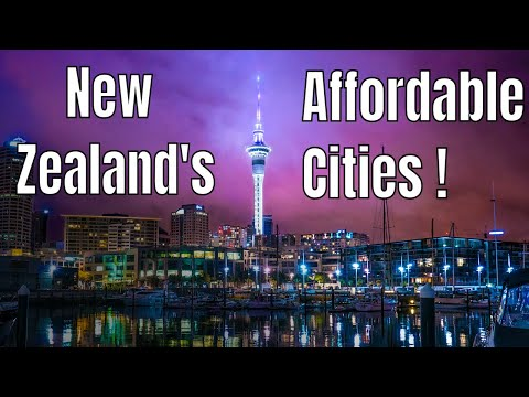 TOP ! New Zealand most Affordable cities