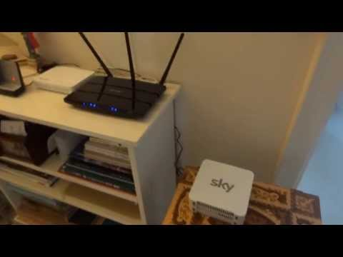 Information on getting another router working on Sky Fibre - TP-LINK N750 - By TotallydubbedHD