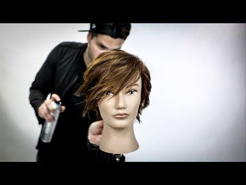 Short Womens Haircut Tutorial | Pixie Haircut | MATT BECK VLOG 105