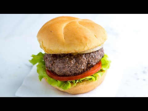 The Best No Fuss Hamburger Recipe - How to Make the Best Hamburger Patty from Scratch
