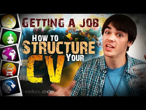 How to Structure a Perfect CV to Get Yourself a Job?!