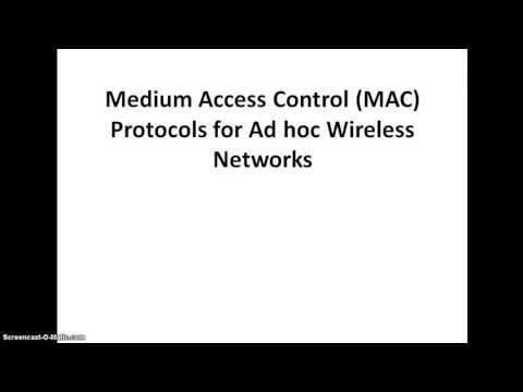 Wireless Mac Protocol