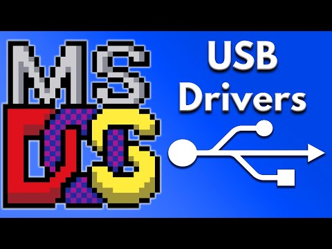 MS DOS USB Drivers - Computer Hardware Tutorial