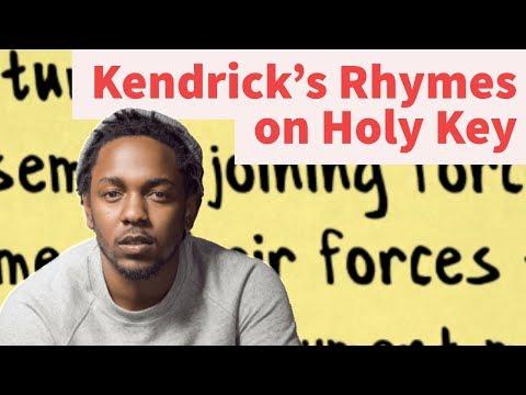 Rap Tips from Kendrick Lamar's Holy Key- Rhyme Schemes Analysis