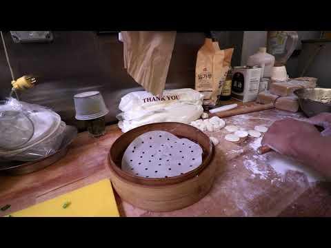 Making Fresh Hand-Made Shumai Dim Sum at Chili House San Francisco