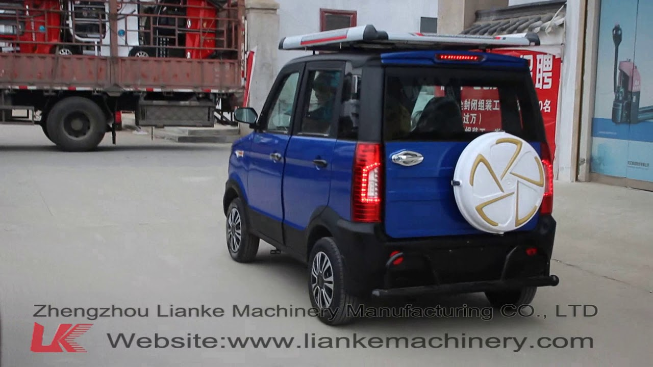 LK4600D  electric car (The roof is a solar panel)