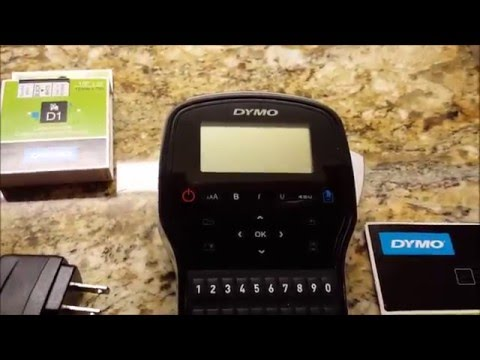 Dymo Label Maker Review - Dymo Label Manager