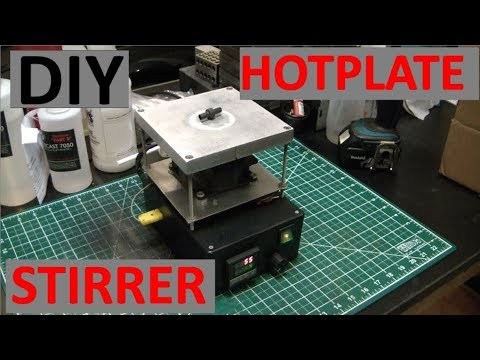 HOMEBUILT PID CONTROLLED HOTPLATE & STIRRER - TEARDOWN - ELEMENTALMAKER