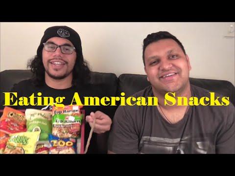 New Zealanders Eat American Snacks