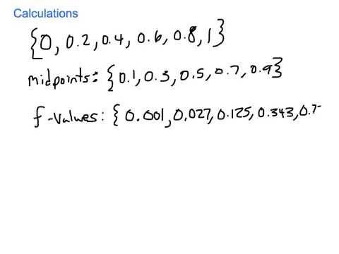 Riemann Sum Example (p. 442, #10)